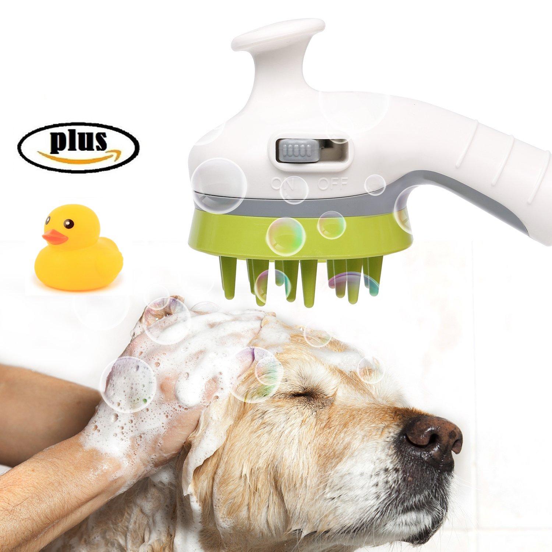 Buy Handheld Pet Shower Head Sprayer Massage Shampoo Brush Grooming