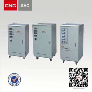 China Famous Brand SVC 3-Phase voltage stabilizer 500 kva