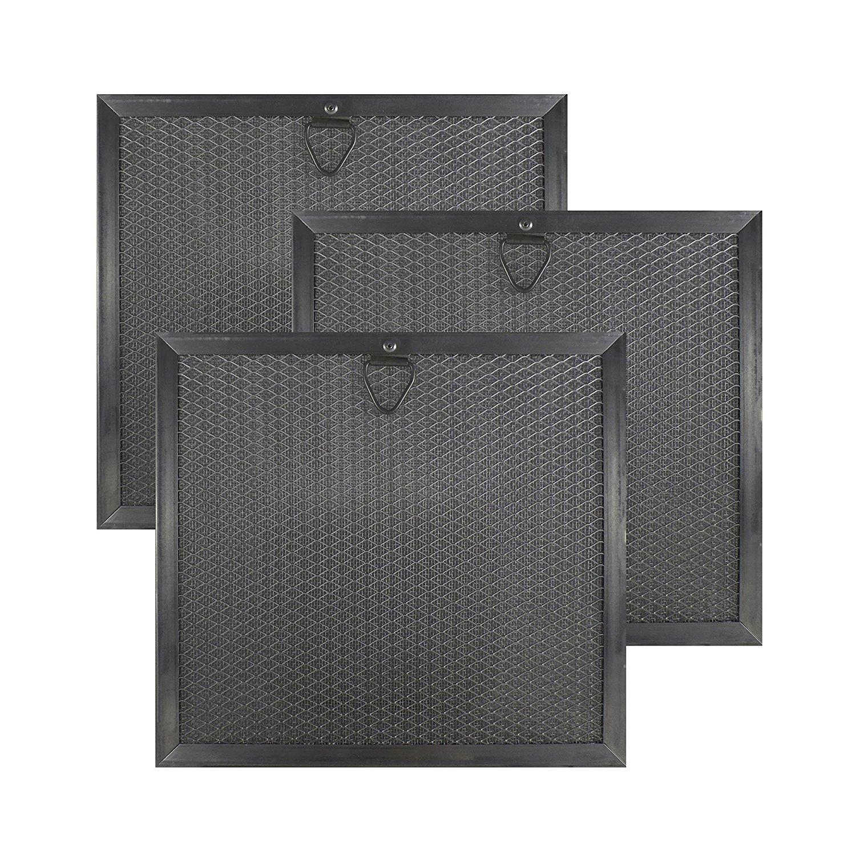 3 Pack 19 11 860 01 00487064 Thermador Bosch Range Hood Aluminum