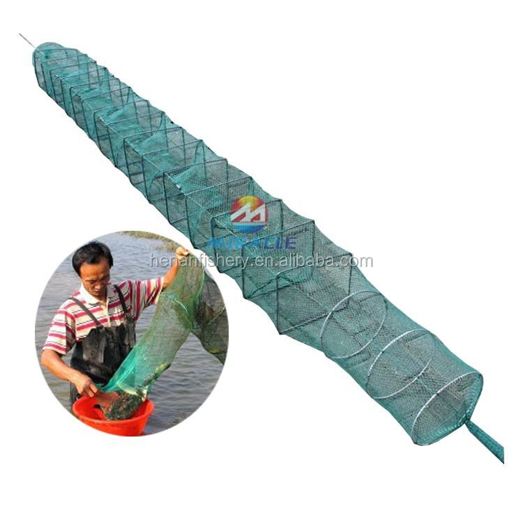 Portable Folded Fishing Net For Catch Shrimp Crab Crawfish - Buy Folded  Fishing Net,Aquaculture Traps,Fishing Net Trap Product on Alibaba com