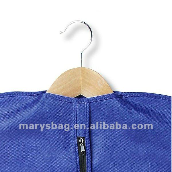 Polypropylene Garment Bag with ID Window and Front Zipper