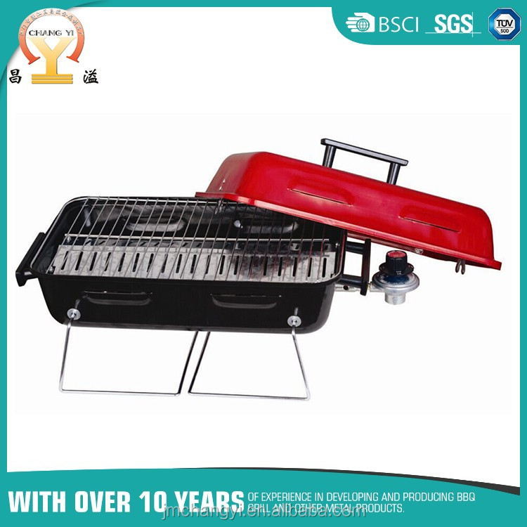 Custom camping portable beach best folding legs butane bbq gas grill