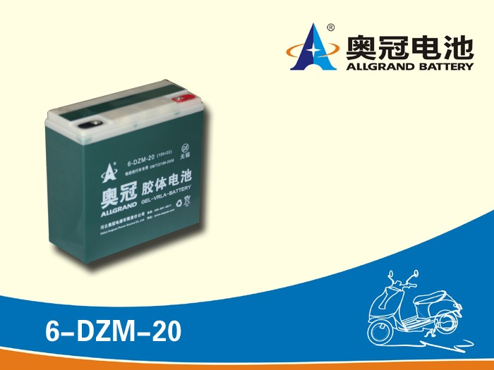 Top Selling 12V 20Ah Deep Cycle AGM GEL VRLA Battery for Electric Bike (Scooter) Rechargeable, Sealed and Free of Maintenance