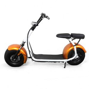 60-80km Range per charge 48V voltage fat tire electric scooter big wheel motorcycle