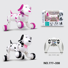 Cute kids intelligent dog Robot RC Electric Remote Control 2 4 G Pet dogs dancing light