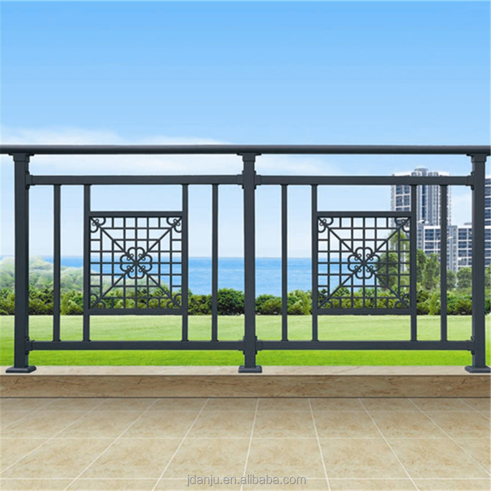 2017 latest easily assembled roof deck railing