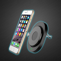 Car Magnetic Wireless Cell Phone Charger Qi Standard Air Vent Car Mount Holder Android Phone Generic MK996
