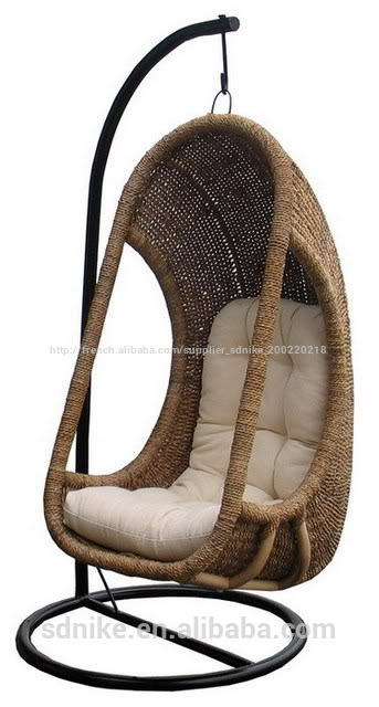 vente chaude en forme d 39 oeuf 2014 jardin balan oire en rotin suspendus pr sident. Black Bedroom Furniture Sets. Home Design Ideas