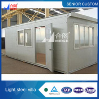prefabricated accomodation containers in alibaba