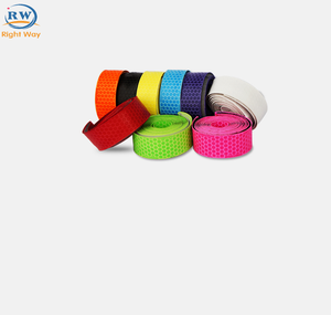 NEW Design Custom PU Colorful Honeycomb Fixed Gear Bike Tape Good Quality Bicycle Handle Bar Tape