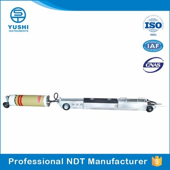 China YUSHI NDT Testing Machine Two Wheel Drive X.Ray Pipeline Crawler ST-PC03