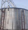 10000 tons bolted grain storage silo tank , storage handling system for seeds