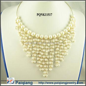 cedd38163043c Multi Strand Pearl Necklace,Modern Pearl Necklace,Pearl Chain Necklace  Designs Bridal - Buy Pearl Chain Necklace Designs Bridal,Modern Pearl ...