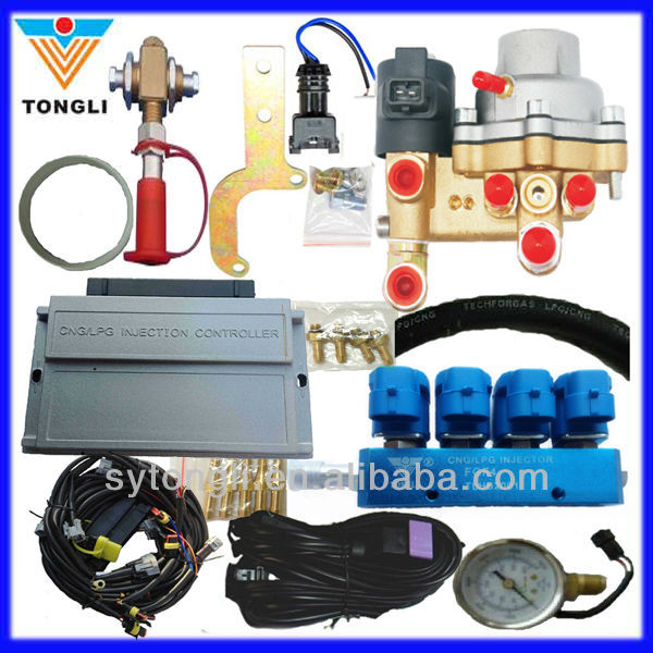 cng/lpg conversion kits AC200-4G (CNG Multipoint Sequential Injection System)