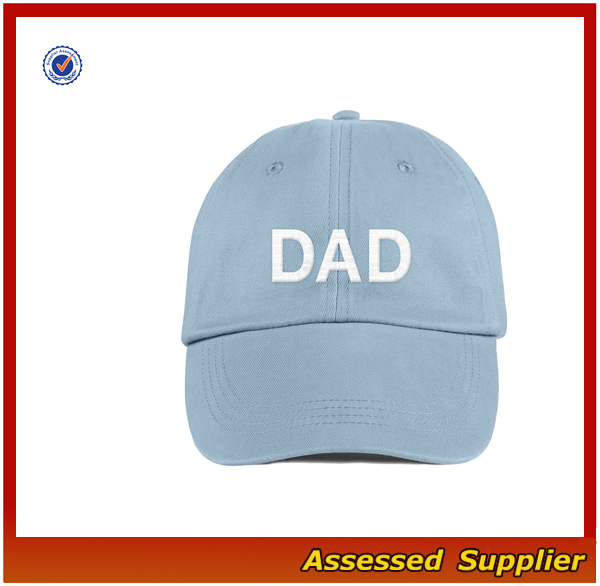 China supplier custom cotton dad hat embroidery baseball cap sun hat for youth