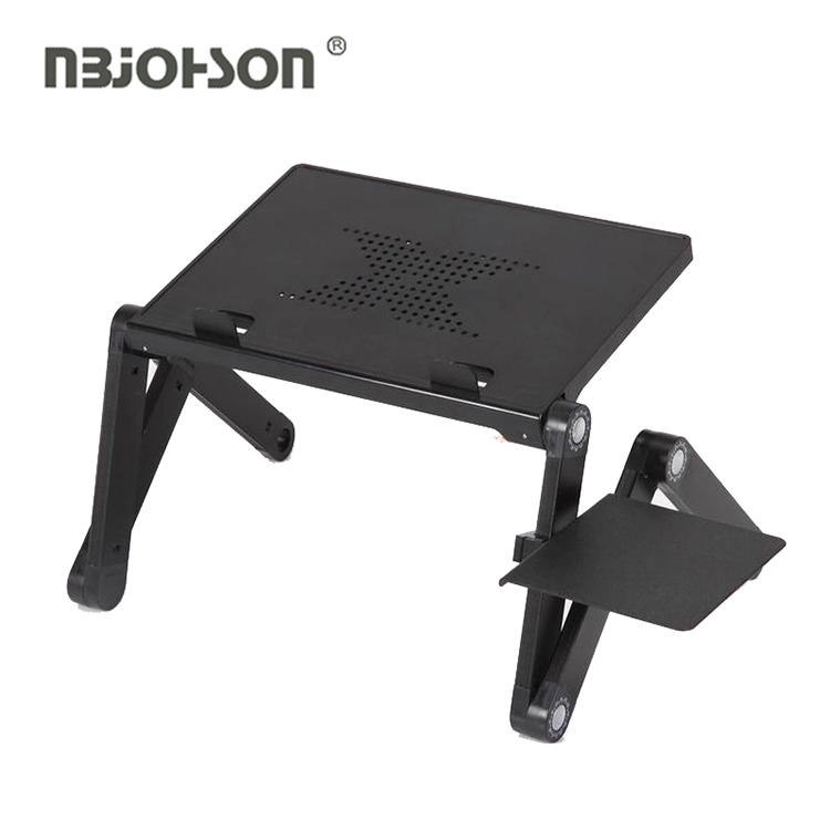 Brand New Universal Portable Notebook Stand Adjustable Laptop Desk With Mouse Pad