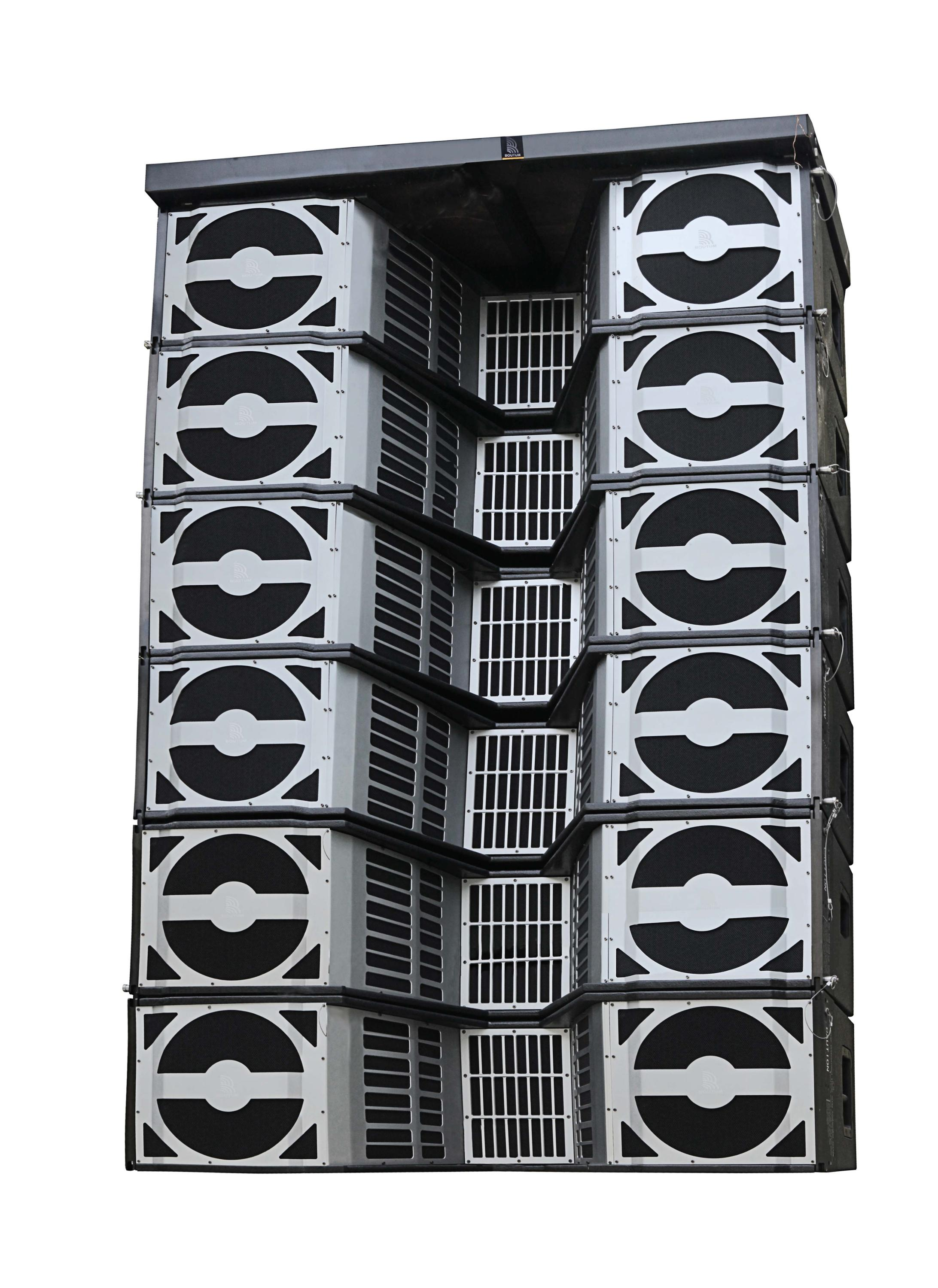 10000 W 4-Way Full-Range Pieno Neo DJ Sound Box Sistema di Altoparlanti Line Array Professionale Stadio PA System