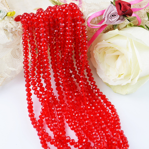 Free Shipping 27 Colors Option 1-8mm Hollow Rondelle Faceted Glass Beads for Jewelry Making,China Glass Beads for Decorating