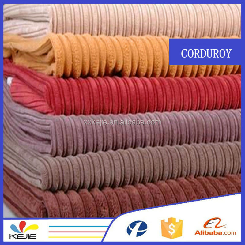 100%Cotton Strong Stretch 8 Wales Corduroy Fabric