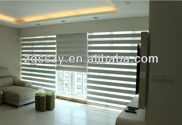 zebra roller shade double folded zebra blinds fabric pleated dual roller shades blinds fabric