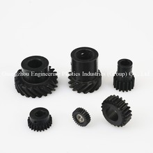 wholesale colored plastic mould injection pa6 gf30 nylon gear wheel