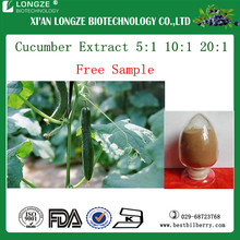 Top quality of cucumber extract for skin care with anti wrinkle effect