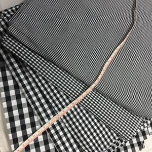 100% cotton shirting fabric check yarn dyed gingham