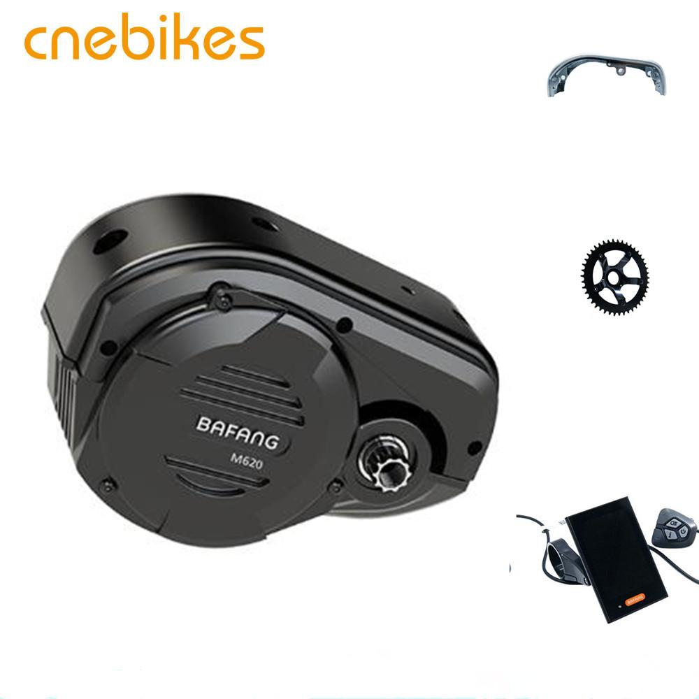 max mid drive system bafang ultra m620 G510 mid motor kit, Black
