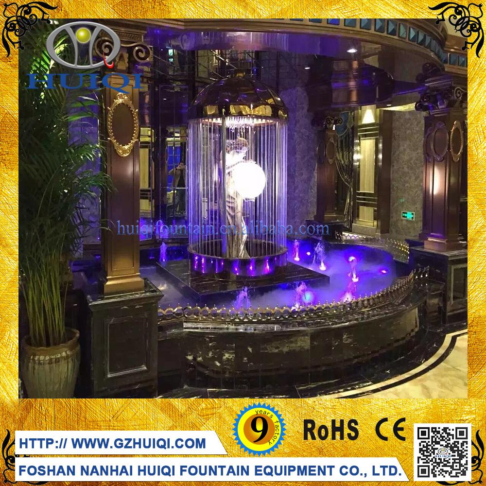 Romantic Indoor Artificial Digital Waterfall