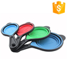 New style wholesale collapsible measuring spoon set measuring cup