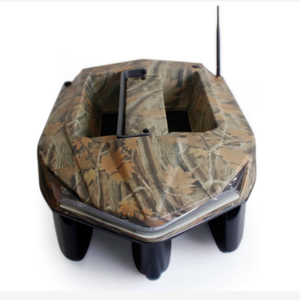 Portable Camo ABS RC Fishing Bait Boat gps fish finder with lithium battery