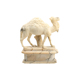 new product life size garden animal decoration handcraft marble camel sculpture MSM-26