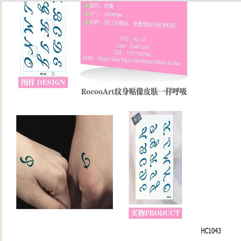 d58dff93a Detail Feedback Questions about 2pcs/lots Waterproof tattoo of male ...