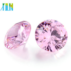 High quality AAA cheap price RD loose cz stone polished loose rougn diamond