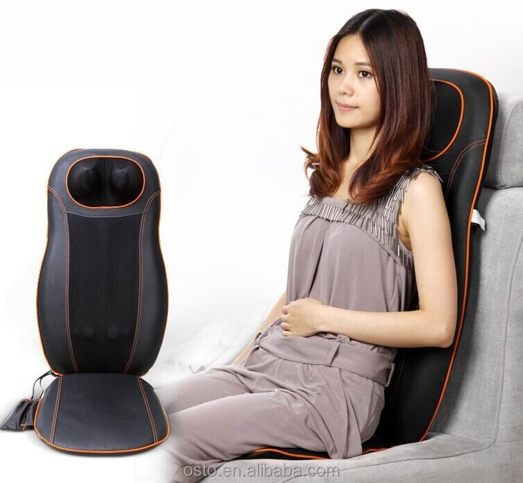 Kneading Car Massage Seat/neck and back massager cushion/ infrared massage cushion (CE&RoHS)