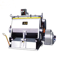 Pizza and Hamburger box making machine /paperboard creasing die cutting machine