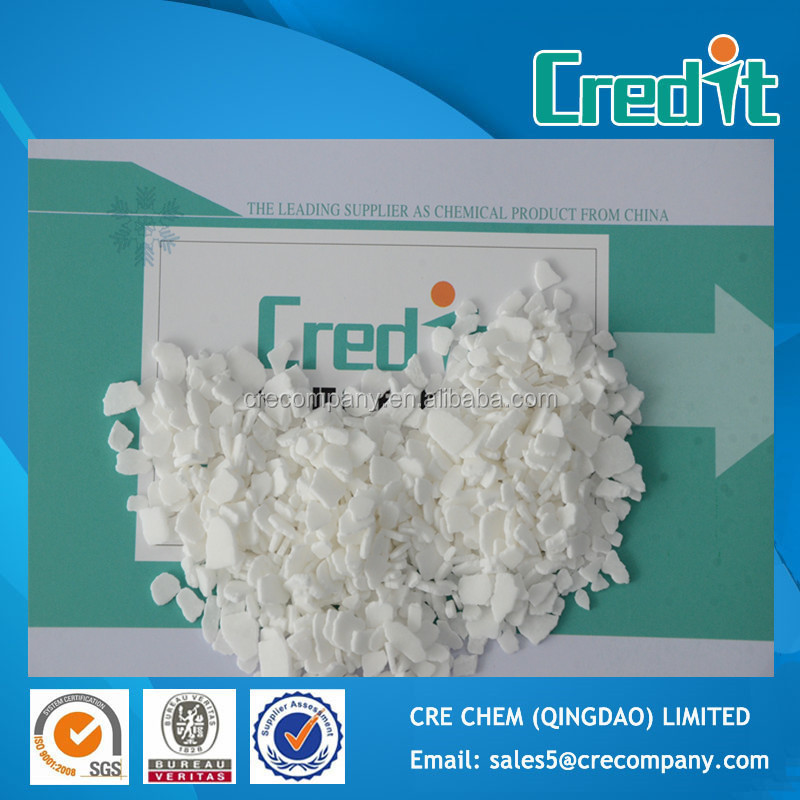 Supply 77%Min Flakes Food Grade Calcium Chloride Dihydrate