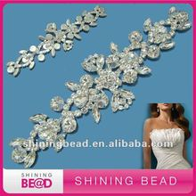 cheap exotic lots rhinestone big brooches for wedding dress