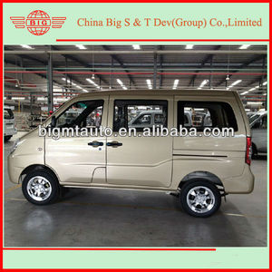 Chinese 7 seat gasoline van for sale van body kit