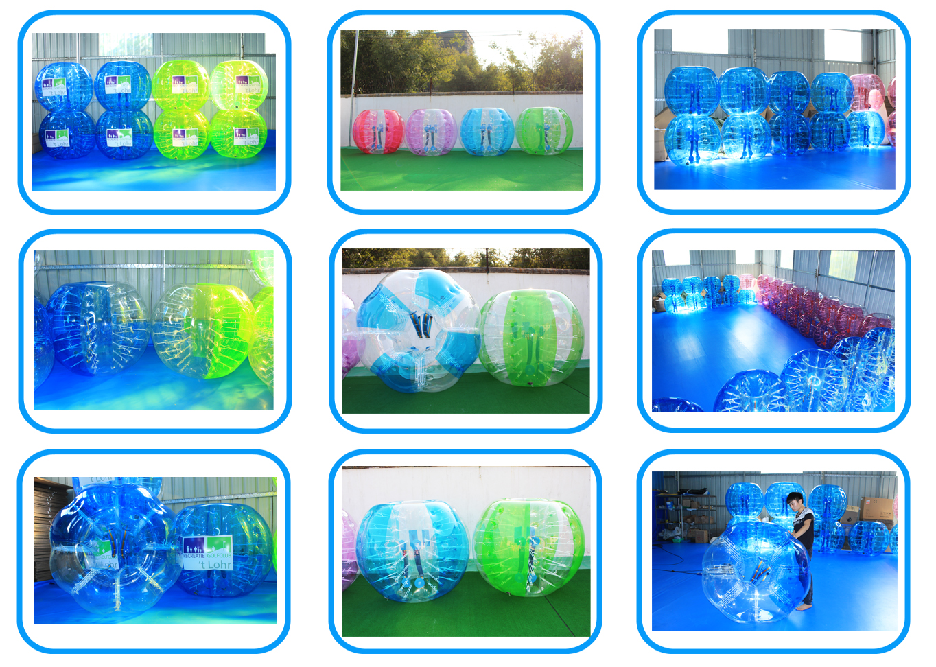 Inflatable Belly Human Sized TPU Bubble Soccer Bumper Ball for Adult N Kids