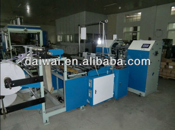 PE Film Roll Making Machine with Servo system control