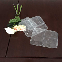 Plastic Material and Chocolate Use Transparent Plastic Packaging Box