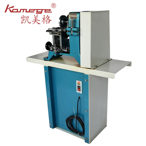 Kamege Double Side Dog Collar Leather Belt Edge Polishing Cutting Trimming Making Machine XD-111
