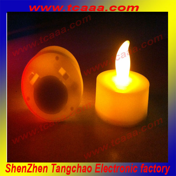 2014 LED light glowing candles