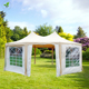 Promotion sales Marquee Party Tent 20'x15'x12' Garden Gazebo Canopy Wedding Octagonal