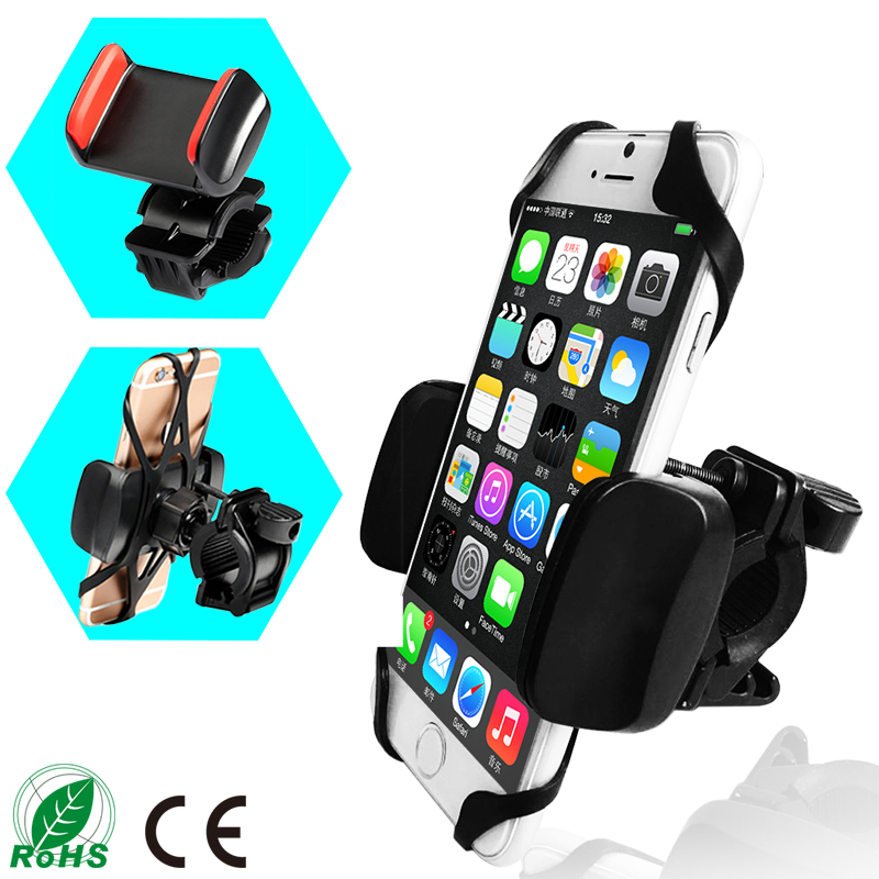 2017 cheap universal bicycle bracket factory OEM palstic cell phone stand for bike