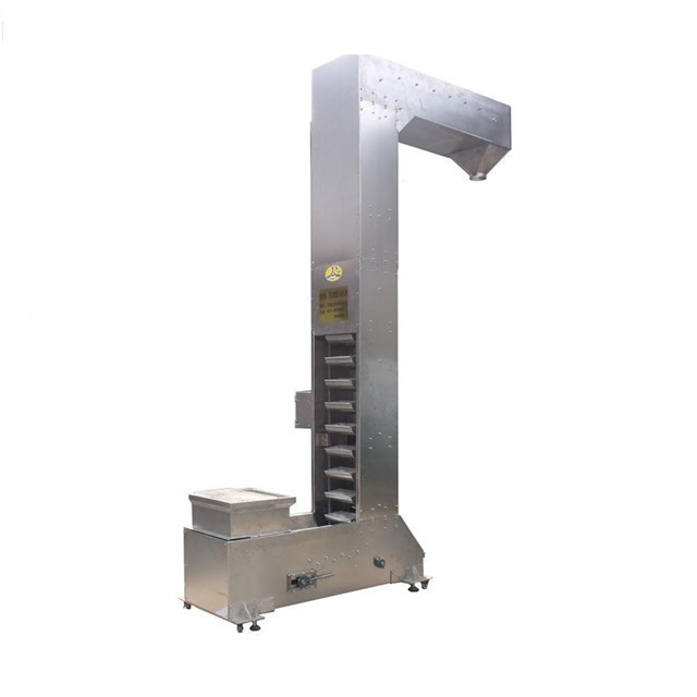 China Z types of food grade bucket elevator