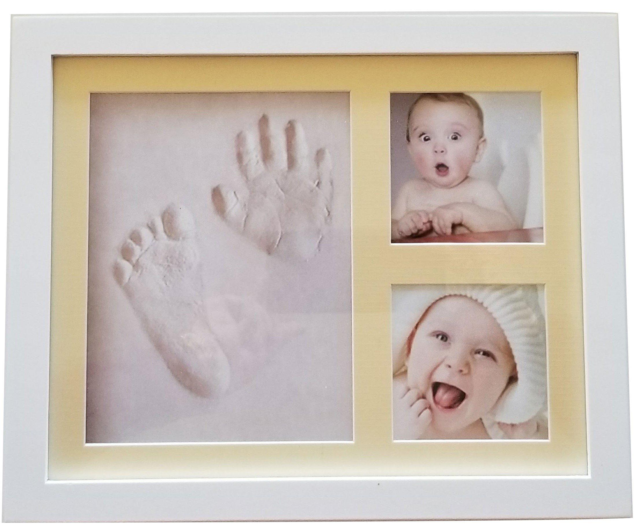 Namuri Pendant Baby Imprint Material With Real Diamond Baby Keepsake Gift