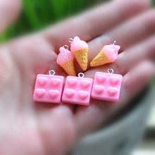 50 шт ожерелье Подвески ожерелье еда кулон для DIY украшения серьги женщина ювелирные изделия брелок(Китай)
