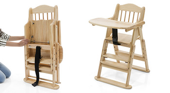 Wholesale Floding Wooden High Chair Baby Feeding Buy High Chair